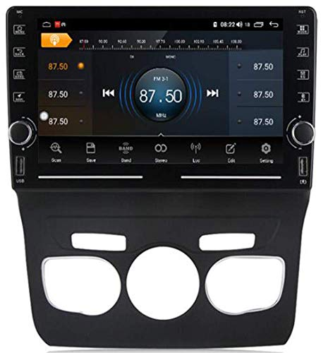 LL-SUNGIRL 9'Android 10.0 Radio de automóvil Single DIN para Citroen C4 2013-2016 Bluetooth Car Stereo Sat SATISP Support GPS WiFi USB Volante Control