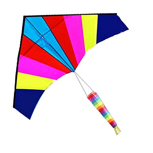 FFSM Original Kite, Kids Kite Fun Kites For Kids Easy To Fly With Outdoor Sports Color Delta Kites Easy to fly (Color : 1.8m A) plm46 (Color : 2.5m a)