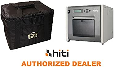 HiTi P525L Photo Printer. Bundle with Our Exclusive Printerbag Brand Carrying case (Handbag Version - no Wheels). Great Combo for Photo Booth Business.