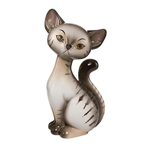 Goebel - Tabby Kitty - Katzenfigur - Porzellan - Rosina Wachtmeister Höhe 18 cm