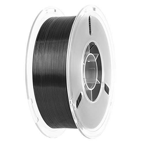 PLA+ Filament Druckmaterialien 1,75mm für 3D Drucker oder 3D Stift, PLA PRO Filament-3D-Druck 1KG, PLA Plus 3D Drucker Filament, 1,75 +/- 0.02 mm | Vakuumverpackung, 6 Farben (Schwarz)