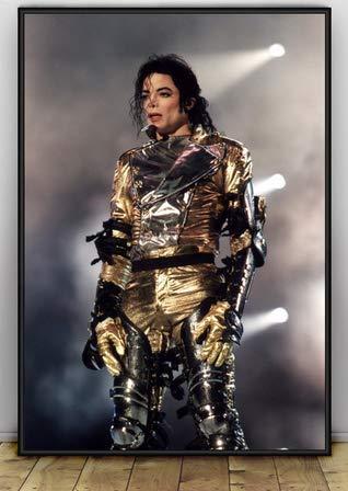 ysldtty Canvas Painting Poster Michael Jackson Carteles E Impresiones Imagen De Arte De Pared para Sala De Estar Decoración para El Hogar C245 Sin Marco 40cmx60cm