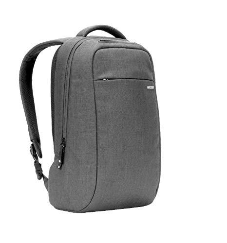 Apple社公認 INCASE (インケース) ICON Lite Pack Ⅱ With Woolenex スリムで高機能なタウンユースバッグパック (Asphalt) [並行輸入品]