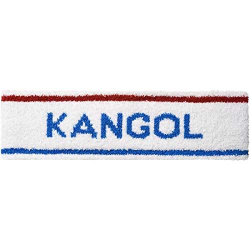 Kangol Bermuda Stripe Headband White/Ciano, One Size