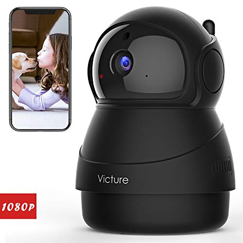 Victure 1080P FHD WiFi IP Camera Indoor Wireless Security Camera Motion Detection Night Vision Home...