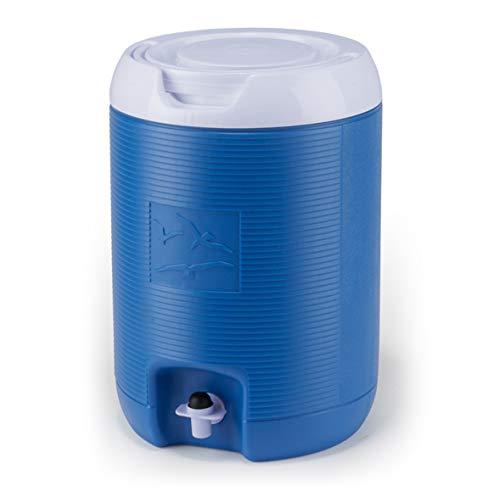 Plastime Borraccia Bottiglia Contenitore Termico per Acqua Spring Colore Azzurro capienza 8 lt Campeggio Sport Tempo Libero Mare Vacanza Made in Italy