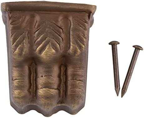 Brass furniture leg caps _image4