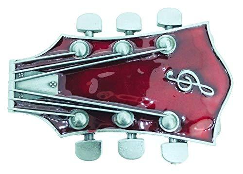 Gemelolandia Hebilla de Cinturón Clavijero de Guitarra | Complementos de Moda Unisex Para Hombres y Mujeres Exclusivos y Atemporales | Accesorios Para Regalos Originales
