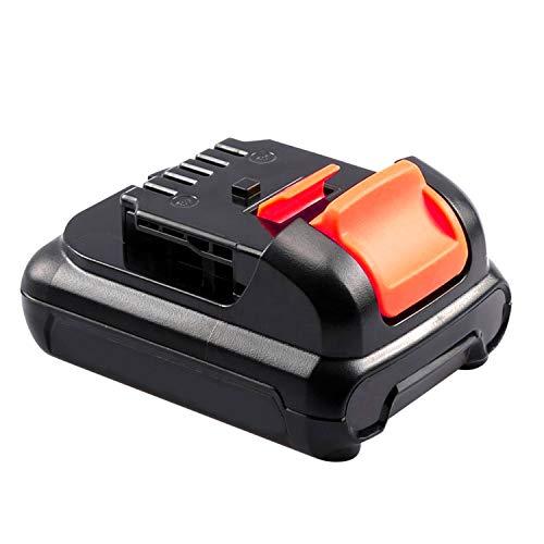ARyee 12V 2.5Ah DCB121 Batteria per utensili a batteria compatibile con DeWalt DCB100 DCB120 DCB127 DCD710 DCB125 DCB119 Utensile a batteria