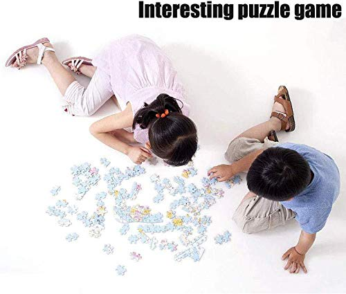 KUANGPP 1000 Teile HolzpuzzleErwachsene Kinder Spielzeug Puzzle kreatives Spiel DIY klassisches Puzzle Spielzeug kognitive Geschenk-Leseeule- 1000 PCS - 4