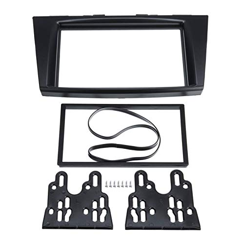 GIS Radio de automóvil Radio Stereo Fascia Panel Cubrir Plate Frame Bezel Fit para Suzuki Swift 2011 2013 2014 2015 2015 2016