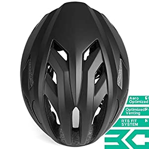 BASE CAMP Bike Helmet, Road Bike Helmet for Adult Men Women Cycling Scooter Adjustable M/L Size 22 to 24.5 Inches