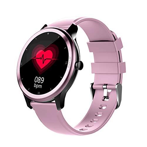 LJMG Reloj Inteligente, G28, Reloj Inteligente Electrónico De Hombres Deportivos, Adecuado para Android iOS Fitness Tracker, Tiempo Cronómetro, Smartwatch,B