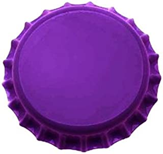 Beer Bottle Crown Caps - Oxygen Absorbing for Homebrew (Purple)