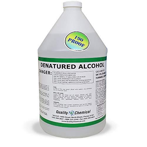 Denatured Alcohol 190-1 Gallon (128 oz.)