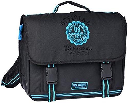 US Marshall Schulranzen, Bleu schwarz (Blau) - USN13004
