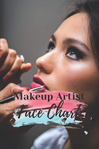 Makeup Artist Face Charts: log in book for face makeup , face charts for makeup artist ,120 pages of premium quality the perfect fit for makeup artist ... chart book,face charts for makeup artists
