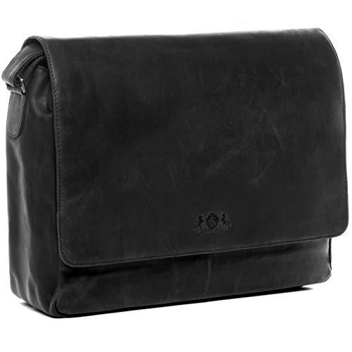 SID & VAIN XL Messenger Bag mit 15