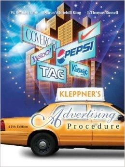 Kleppner's Advertising Procedure: Student Value Edition