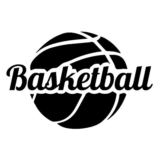 Kdsmfa - Adhesivo decorativo para pared (58 x 38 cm), diseño de baloncesto