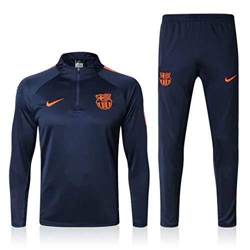 SQUZEA Traje teamswear jóvenes Correr Arriba y los Pantalones de los Hombres de Manga Larga Camiseta de fútbol Ropa de Deporte Adulto Leotardos Ropa Unisex Completa
