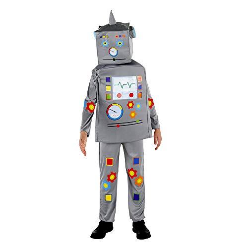 Dress Up America Robot Costume For Kids Kostüme, Herren, Mehrfarbig Einzigartige Größe