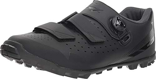 SHIMANO SH-ME400 LSG Series High-Performance Enduro; All Mountain; Off-Road; Trail Cycling Women's Bicycle Shoes; Black; 42