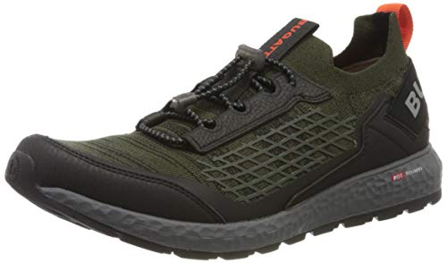 bugatti Herren 342589625059 Slip On Sneaker, Grün, 45 EU