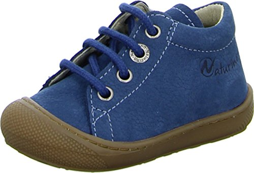 Naturino 3972, Chaussures à lacets et coupe classique garçon - Bleu - Jeans, 19 EU