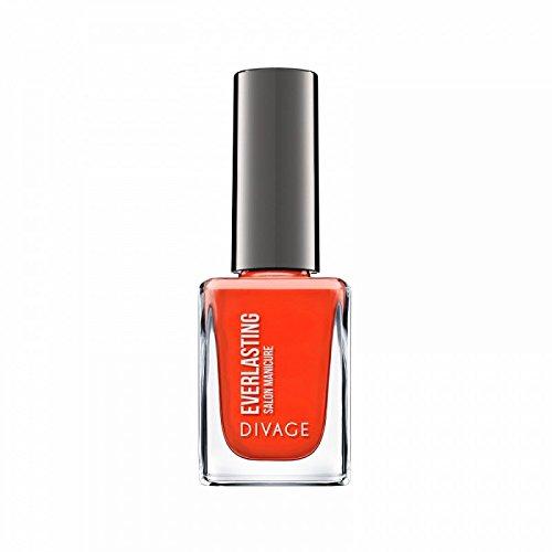 Divage Smalto per Unghie Everlasting, Rosso Arancio - 52 gr