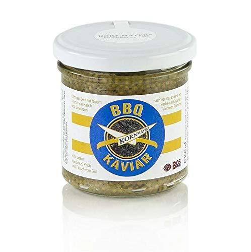 Kornmayer - BBQ-Kaviar (Senf), aus schwarzen Senfkörnern, 160 ml
