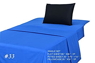 Tache 3-4 Piece 100% Cotton Hypoallergenic Bed Sheet Set- All Sizes and Many Vibrant Colors
