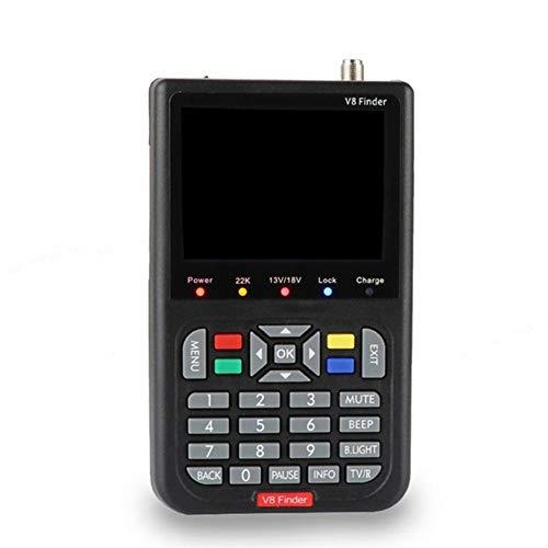N / A HD Digital Satellite Finder Meter, ausgestattet mit einem Mikroprozessor-Controller, zuverlässige und stabile Leistung, Plug-and-Play-Installation, geeignet für zu Hause
