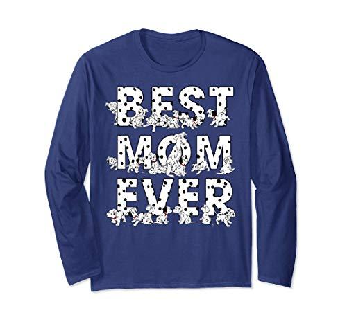 Disney 101 Dalmatians Best Mom Ever Long Sleeve T-Shirt