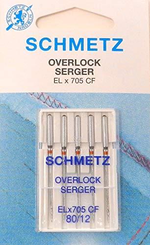 Schetz EL x 705 CF - Agujas de Tejer para Singer S14-78 (80 Unidades)