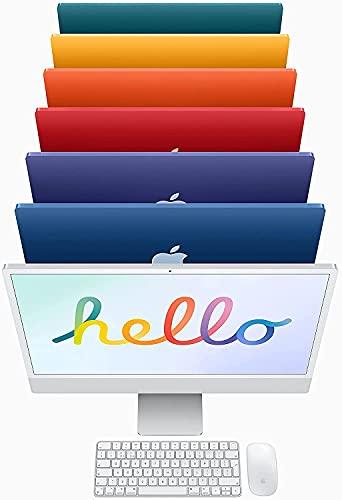 Steady Comps Ltd Mac Desktop 24'/8-Core M1 Chip/8GB RAM/7-Core GPU/1.25TB SSD Storage/Office para Mac/DVD Drive/4 puertos USB 3.0 Hub con Ethernet