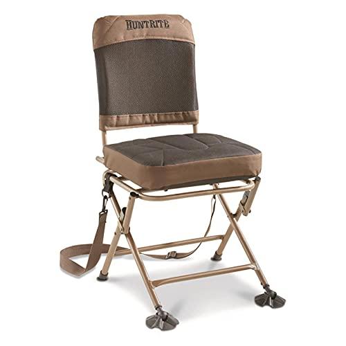 Guide Gear 360º Swivel Hunting Blind Chair, 300 lbs Capacity, Folding,...