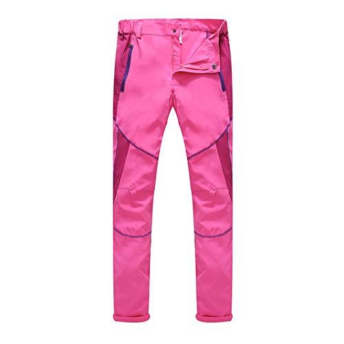 ITISME Pantaloni Trekking Uomo Donna Taglie Forti Invernali Pantaloni Elasticizzati Arrampicata Sportivi Antivento Impermeabile Sport All'Aperto Trousers Asciugatura Veloce Pantalone Softshell Unisex
