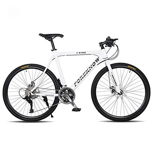 Bicicleta de montaña, de 26 pulgadas bicicleta de montaña, 21 de velocidad / velocidad 24/27 velocidad de cercanías, Frenos de disco doble, Hombre y estudiante de Bicicletas-ruedas de radios,C,27