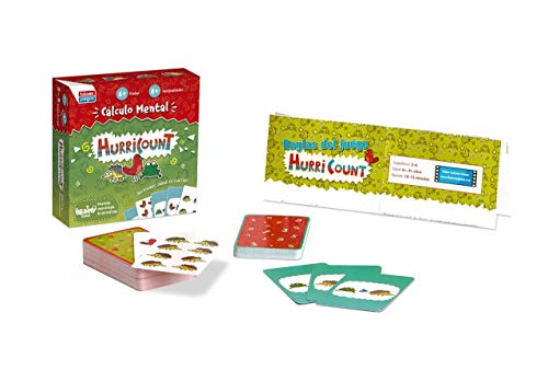 Falomir- Hurricount Juego de Mesa Educativo, Multicolor (30010)