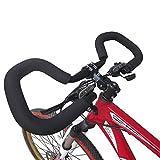 YOBAIH Manillar Bicicleta Bicicleta de la Mariposa del Manillar de aleación de Aluminio MTB Fija Cinta Engranaje Bici del Camino del Manillar Manillar Cubierta (Color : 1)