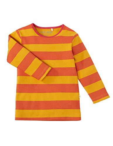 Bio Kinder Unterhemd Langarm 100% Bio-Baumwolle (kbA) GOTS zertifiziert, Koralle, 110/116