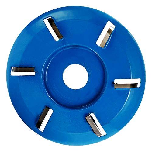 La Talla De Madera Disc, Turbo Carburo De Talla De 90 Mm Discos Herramienta Fresa 6 Dientes Para Trabajar La Madera para Amoladora Angular de 16mm