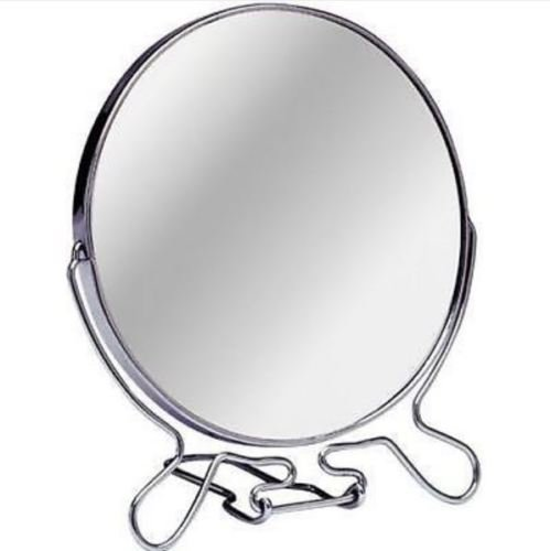 10,2 cm 15,2 cm Maquillage Cosmétique de rasage Loupe ronde sur pied 2 faces miroirs