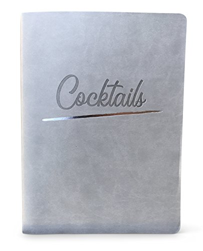 Cocktail Journal with Blank Pages - Create Your Own Custom Mixed Drink Recipe Book or Drink Notebook and Record the Best Craft Cocktails
