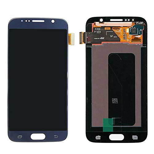 Replacement LCD Display Touch Screen Digitizer for Sam-Sung Galaxy S6 G920 G920F,LCD Display Screen Touch Digitizer +A Set of Tools - Blue