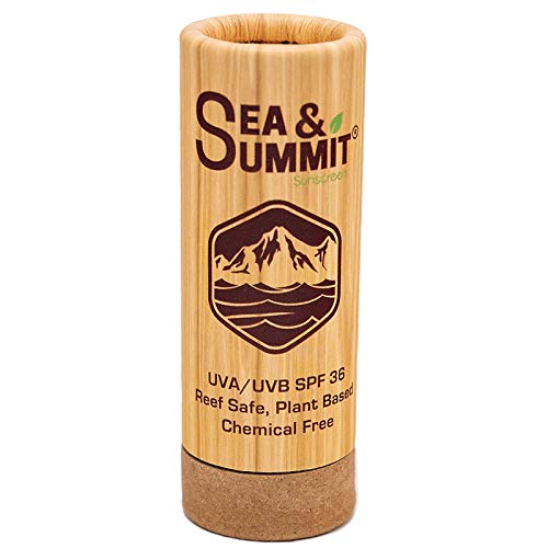 Sea & Summit Mineral Based Moisturizing Sunscreen, UVA/UVB Protection, SPF 36, Face Stick, Clear, 1 oz Stick