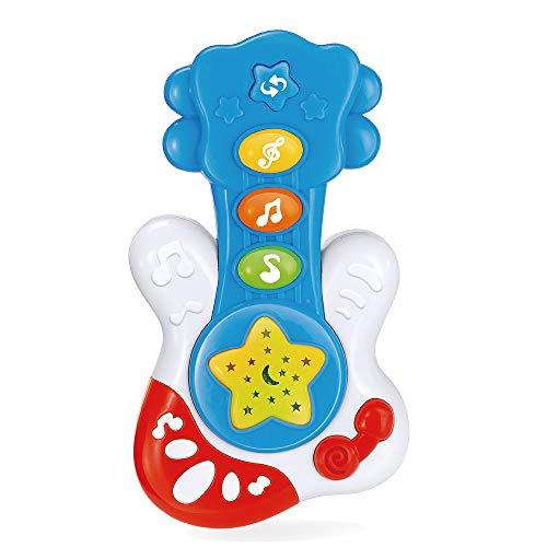 WEofferwhatYOUwant Mein erstes Spielzeug Instrument, die E Gitarre ! Musikalische Früherziehung für Babys ab 18 Monate