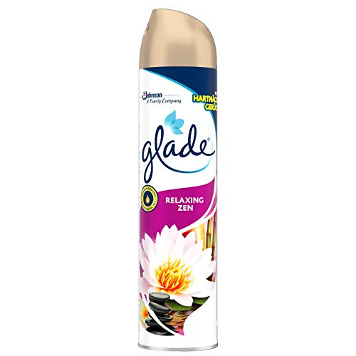 Glade (Brise) Duftspray für langanhaltende Frische in allen Räumen, Lufterfrischer Spray, Relaxing Zen, 1er Pack (1 x 300 ml)