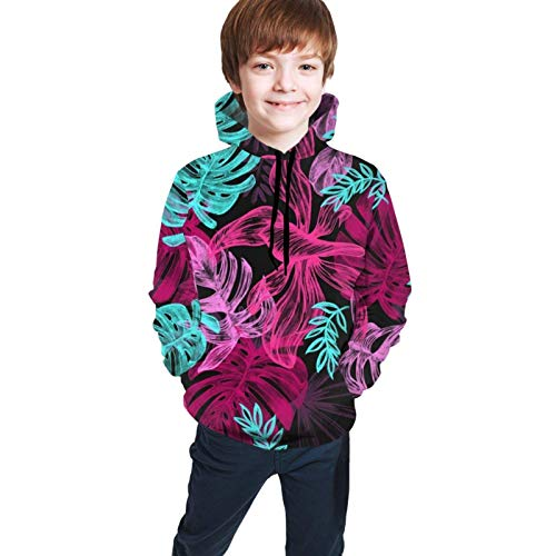 XCNGG 3D Print Pullover Hoodies Hooded Sweatshirts Sweaters Gift for Youth Boys Girls